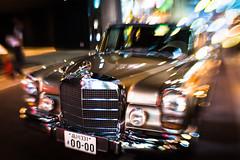 Mercedes W100. (taga928s4(Akira.T_JPN)) Tags: akira tagawa アキラ タガワ mercedes benz w100 lenbaby sweet35 ginza tokyo night