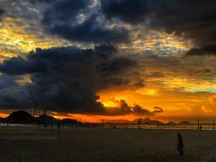 Early bird (Different≠Same) Tags: rio brasil copacabana light iphone sky sunset