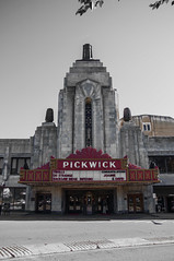 Pickwick Theater (George Baritakis) Tags: cinema movies art architecture usa chicago urban city cityscape vintage
