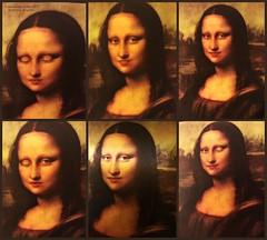 Six Studies for Mona (goofcitygoof) Tags: picmonkey monalisa