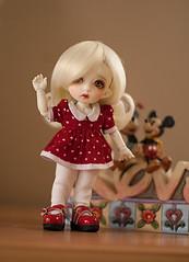 Evie_Disney (DominiqueBB) Tags: pukifee bjd sewing cony