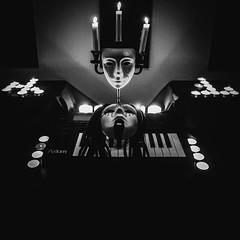 CODE: Late night tunes. Ready to create.