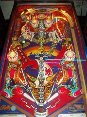 Viking (scottamus) Tags: pinball machine game table arcade playfield design layouts graphics artwork viking bally 1979