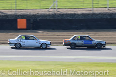 PBMW - R2 (11) David Graves vs Andy Gay (Collierhousehold_Motorsport) Tags: toyotires pbmw bmw productionbmw bmw320 bmw320i bmwe30 bmw318 msvr msv garyfeakinsracing gravesmotorsport
