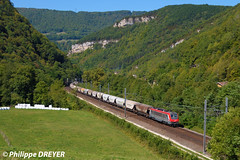 BB36016 sur train Perrigny Modane vers St Rambert en Bugey (philippedreyer1) Tags: