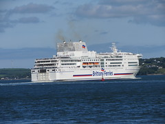 17 05 27 BF Pont Aven  (14) (pghcork) Tags: brittanyferries pontaven corkharbour cobh cork ferry ferries
