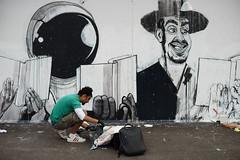 Ganzeer (dtanist) Tags: nyc newyork newyorkcity new york city sony a7 canon fd 50mm brooklyn coney island art walls ganzeer wall mural