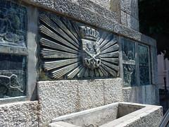 Céret - Place des Ormeaux (Fontaines de Rome) Tags: pyrénéesorientales pyrénées orientales céret place ormeaux monument canal arrosage gustave violet