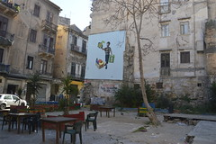 Scorcio su piazza Mediterraneo (costagar51) Tags: palermo sicilia sicily italia italy arte storia murales anticando bellitalia