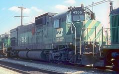 BN A-636 4366 (Chuck Zeiler) Tags: bn a636 4366 railroad alco c636 locomotive cicero chuck zeiler chz