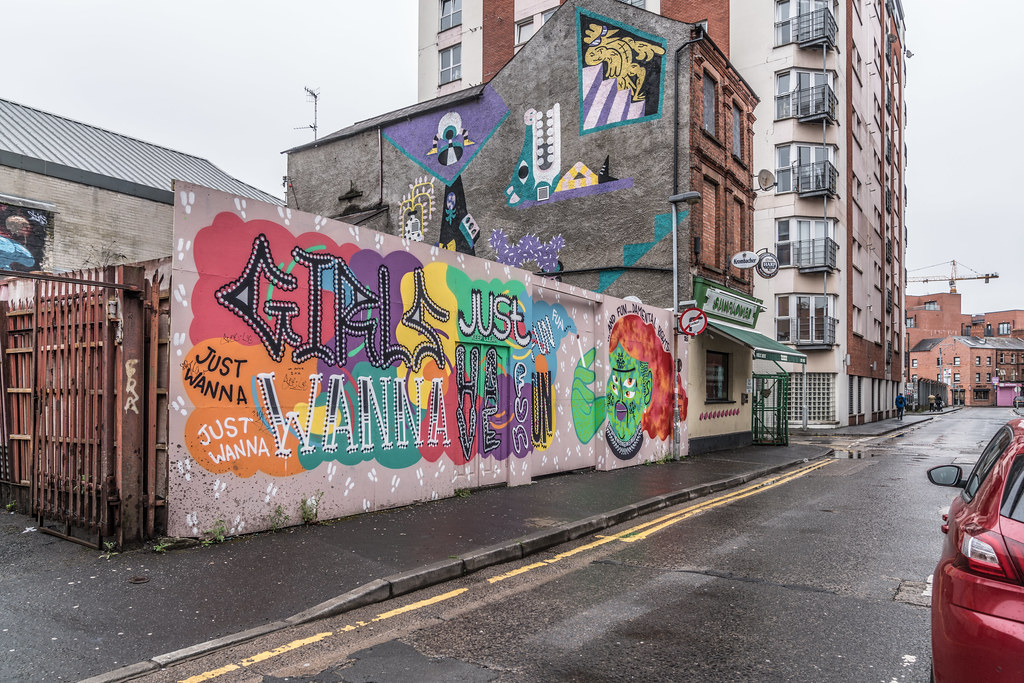 STREET ART AND GRAFFITI IN BELFAST [ANYTHING BUT THE FAMOUS MURALS]-129146