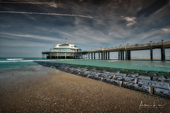 Blankenberge Pier VI (Alec Lux) Tags: hdr hdrphotography beach belgium blankenberge breakwater clouds groyne landscape landscapephotography nature naturephotography ocean pier pontoon scenic sea seascape seascapephotography sky water waves