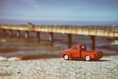 Good old times (Sabine.R) Tags: oldtimer fordpickup tinycar modellcar modellauto
