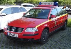 VW Passat - KdoW (michaelausdetmold) Tags: volkswagen vw einsatz blaulicht fahrzeug feuerwehr auto car passat