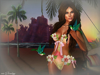 TROPICAL PRINCESS HUNT GIFT  for KULTIVATE ANNIVERSARY