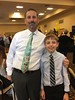 20170608 Quin with his teacher: Mr. Baker (lasertrimman) Tags: 20170608 quinlan with his teacher mr baker mrbaker presidentialawardforacademicexcellence presidential award for academic excellence quin bodkin
