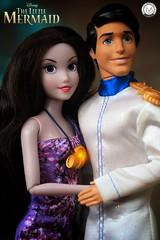 Eric & Vanessa (PrinceMatiyo) Tags: toyphotography doll disneystore disneyvillain disney ursula vanessa princeeric