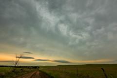 Pre-Storm Clouds (thefisch1) Tags: clouds pre storm rotation country road horizon pasture sky cloud interesting gravel kansas flint hills