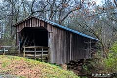 Howard's Covered Bridge (The Suss-Man (Mike)) Tags: abandoned barn barnhunt barnhunting georgiabarnhunters howardscoveredbridge northeastgeorgia old ruralgeorgia sonyilca77m2 sussmanimaging thesussman bridge coveredbridge wood