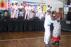 Conga Los Hoyos (2017) 08 (KM's Live Music shots) Tags: worldmusic cuba congasantiaguera congaloshoyos dancers neworleansjazzheritagefestival culturalexchangepavilion fairgroundsracecourseneworleans