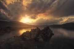 Rocks at Whiskeytown Lake During Sunset (wesome) Tags: adamattoun whiskeytownlake redding