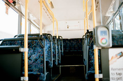 Empty. (ShannonKellers_) Tags: sydney australia bus transport film colour portra