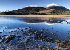 Ice breaking (lawrencecornell25) Tags: landscape waterscape reflection skye scenery scotland isleofskye lochcillchriosd winter ice snow outdoors nature frozen nikond5