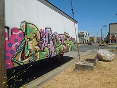 (gordon gekkoh) Tags: baer btr oakland graffiti truck