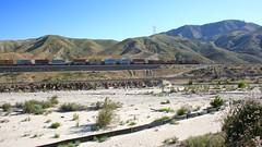 BNSF up Cajon Pass (flannrail) Tags: cajonpass bnsf train mountain railroad