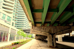 Southcore (wyliepoon) Tags: downtown toronto southcore gardiner expressway lakeshore boulevard lake shore elevated tower skyscraper condo condominium