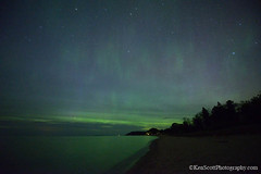 Lake Michigan ... aurora subtleties (Ken Scott) Tags: leelanau michigan usa 2017 may spring 45thparallel hdr kenscott kenscottphotography kenscottphotographycom freshwater greatlakes lakemichigan sbdnl sleepingbeardunenationallakeshore voted mostbeautifulplaceinamerica startrails night longexposure auroraborealis northernlights