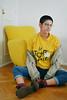 Le Deuxième Sexe (Ine Vidart) Tags: girl model buzzed short hair grunge genderless