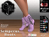 CozyToes SEMPERUS BOOTS Ad (CozyToes Footwear) Tags: secondlife ankleboots boot suede chains footwear womensshoes boots unique exclusive