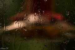 Another rainy day . . . (Irina1010_OFF) Tags: rain droplets wiondow wet water gloomy canon
