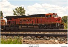 BNSF ES44C4 8272 (Robert W. Thomson) Tags: bnsf burligtonnorthernsantafe ge emd diesel locomotive sixaxle gevo evolutionseries es44 es44c4 train trains trainengine railroad railway garrison montana