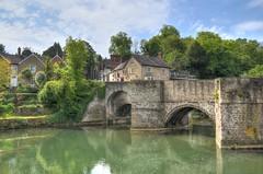Medieval bridge, Ludlow, Shropshire (Baz Richardson (now away until 27 May)) Tags: shropshire ludfordbridge ludlow medievalbridges riverteme rivers