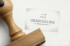 Chaweng Noi Restaurant (WMF Brand-Bureau) Tags: thailand kohsamui restaurant branding creative logo logotype identity corporate chaweng noi