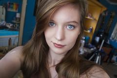 151/365 (Rei_Marie) Tags: 365 project canon rebel self portrait blue eyes