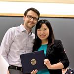 Professor Andrei Cimpian, Lin Bian, J. McVicker Hunt Award