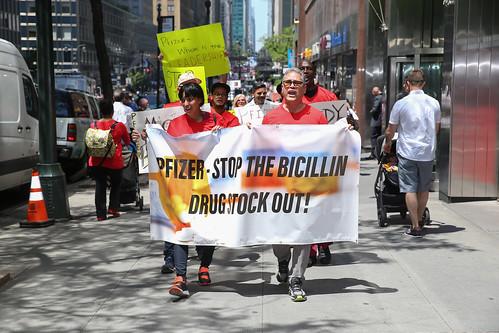 Pfizer- Stop the Bicillin Drug Shortage Protest
