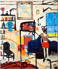 The Guiana Dining Room (Neal Turner) Tags: nealturnercom art paris france french frenchoilpainting oilpainting contemporary nealturner neil originalart sorbonne painting expressionist expressionism oil cityscape nude portrait figurative modern balzac contemporaryartist contemporaryart contemporaryoilpainting postimpressionist postimpressionism postmodern modernist neilturner originalpainting contemporarypainting dailypainting apaintingaday hauserwirth gagosiangallery michaelwerner davidzwirner theholegallery luringaugustine thepacegallery gladstonegallery paulkasmingallery cheimandread cheimread adambaumgoldgallery tiltongallery