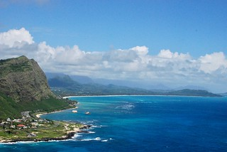 03 Waimanalo Bay from Makapuu Point Lookout