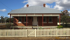 Station Master's House - Darkan (InTheBush*) Tags: chimney house pairs railway railwaystation wagr