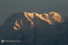 sarangkot- sunrise-10 logo (anindya0909) Tags: nepal sarangkot sunise sunrise