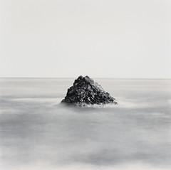 2 - Pyramid Rock (Wilfbiffherb) Tags: iceland landscape fine art black white monochrome medium format ilford ilfordphoto 120 square bronica sqa ethol lpd multigrade seascape