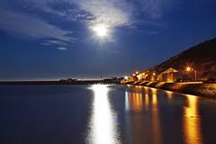 Dancing in the Moonlight (Gadgetman@Nikon) Tags: elements moon moonlight reflections lights night sky colour nikon d5500 nikor 35mm newzealand
