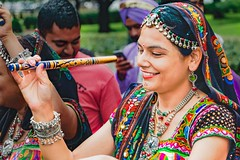 FROM INDIA WITH JOY (panache2620) Tags: indiamexotic woman youngwoman candidportrait candid streetphotography festive beauty naturalbeauty eos canon 70d color vivid portrait