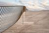 Zig Zag (Luís C) Tags: urban urbanscape fence steel curve architecture design sky cloud pavement nikond610 nikkor50mmf14d
