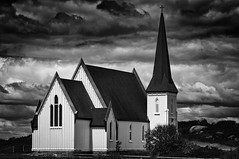 St Johns Anglican Church (Dad from Hell) Tags: anglican blackwhite canada canadarocks garypaakkonen photography stjohns architecture bw blackandwhite church colours d300s landscape monochrome nikon novascotia ns peggyscove spring travel