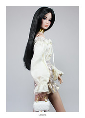 Ayumi (L.Royalty55) Tags: fashionroyalty fr2 fr nuface nu face ayumi nakamura firstblush exclusive cinematicconvention doll barbie toy integritytoys it recklesscollection fashion